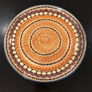 Unikat Polish Pottery Dinner Plate
